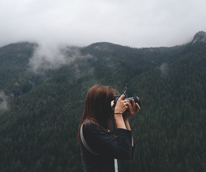 photography, girl, and nature image