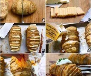potato, food, and diy image