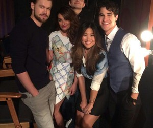 ellen, leamichele, and chriscolfer image
