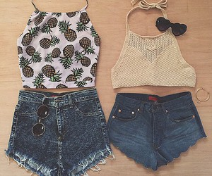 fashion, summer, and oufit image