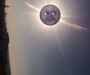 air, funny, and moon image