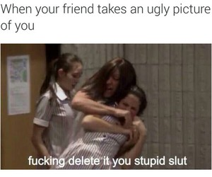 bff, funny, and delete image