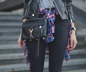 outfit, black, and casual image