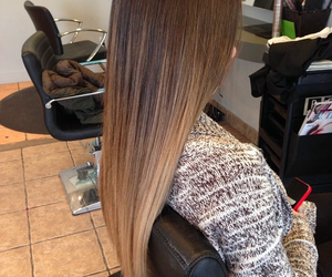brown, hair, and blond image