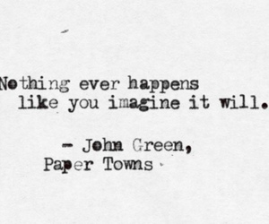 john green, quotes, and paper towns image