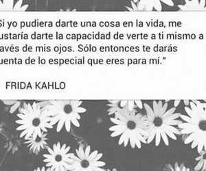 amor, kahlo, and black and white image