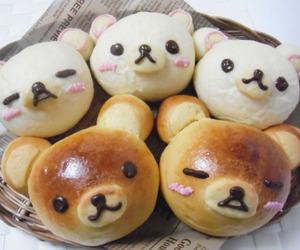 food, bread, and kawaii image