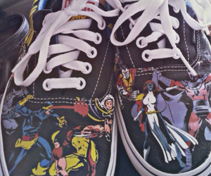 comic, Marvel, and vans image