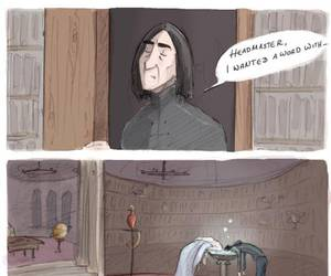 funny, harry potter, and snape image