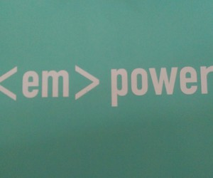 html, power, and empower image
