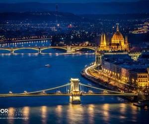 big city, hungary, and budapest image