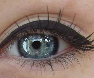 eyes, blue, and girl image