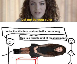 funny, lorde, and lol image