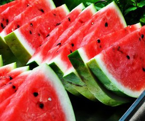 fruit, watermelon, and summer image