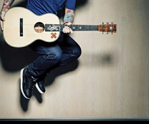 guitarr, music, and singer image