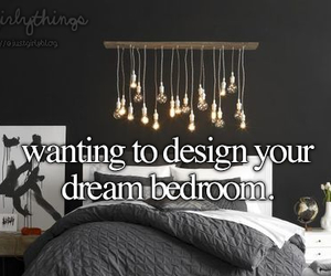 bedroom, girl, and Dream image