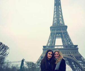 best friends, eiffeltower, and europe image