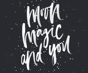 magic, moon, and quotes image