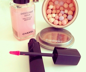 chanel, beauty, and lipstick image