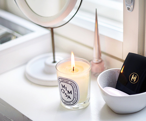candle, chanel, and white image