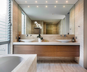 house, bathroom, and design image