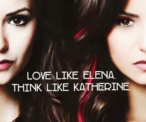 the vampire diaries, tvd, and elena image