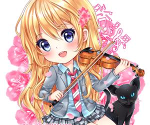 shigatsu wa kimi no uso and anime image
