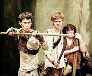 thomas, newt, and dylan o'brien image