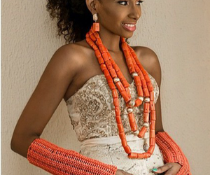 beads, bride, and culture image