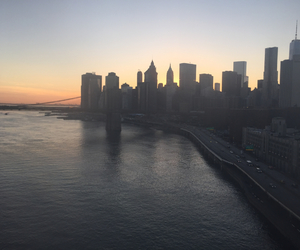 city, new york city, and nyc image