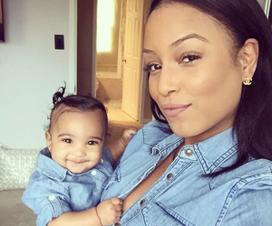 baby, latoya, and mother image