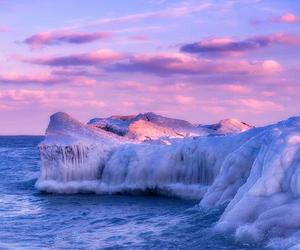 ice, photography, and landscape image