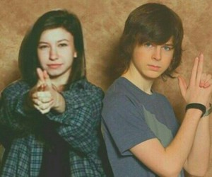 the walking dead, twd, and carl grimes image