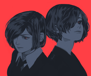 tokyo ghoul, anime, and art image