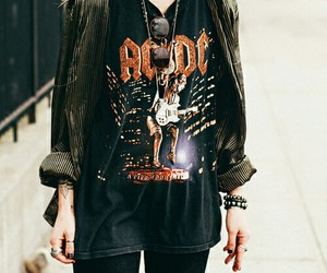 grunge, rock, and ACDC image