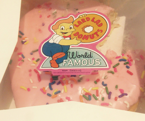 donuts, sugar, and the simpsons image