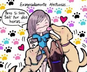 dog, love, and animal image