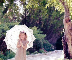 child and spring image