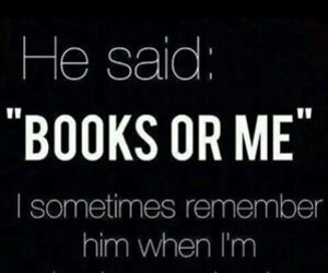black, books, and funny image