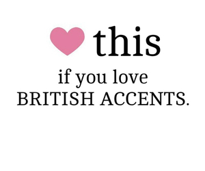 british, heart, and accent image