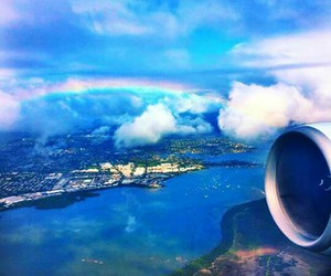 arcoiris, beutiful, and place image