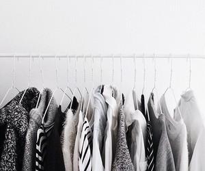 basics, closet, and fashion image