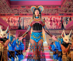 katy perry, dark horse, and egypt image
