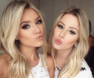 makeup, friends, and beautiful image