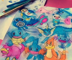 agua and pokemon image