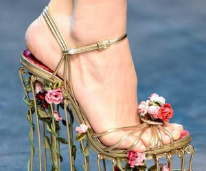 flowers, goals, and heels image
