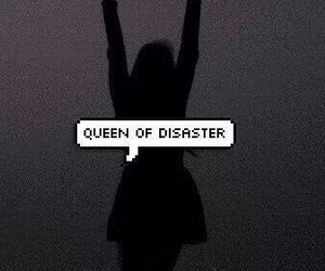 disaster, Queen, and grunge image