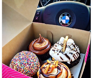 bakery, bmw, and cars image