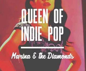 indie, marina and the diamonds, and pop image