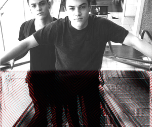 hot guys, grayson dolan, and ethan dolan image